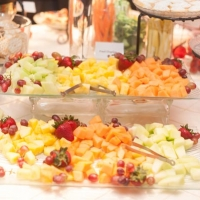 wedding fruit trays