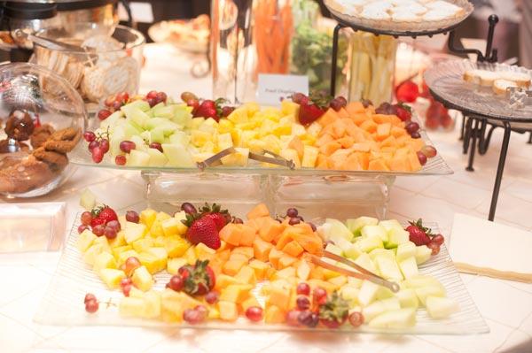 wedding fruit trays
