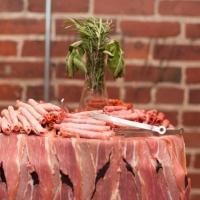 wedding meat selection