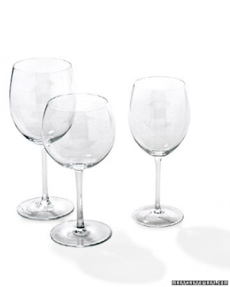 How To Set A Table BA Warehouse - Wine glass table setting