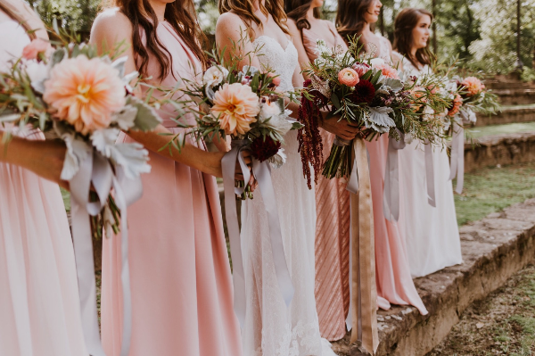 stems & styles bridesmaids