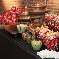 wedding nacho bar